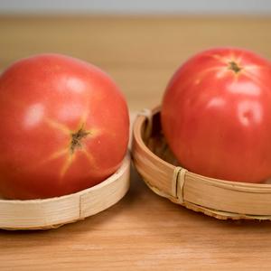 有机粉色大番茄