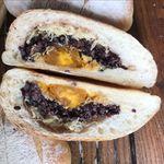 无添加蛋黄紫米饭团面包