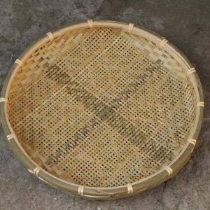 竹编筛子(有孔) 直径50cm