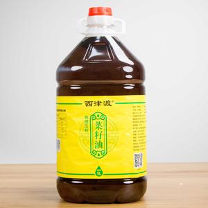 物理压榨菜籽油 5L