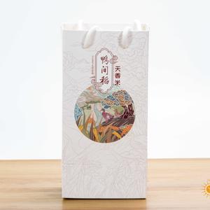杜氏天香6号大米 2斤礼袋盒装