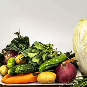 (每人限1份)无公害蔬菜体验装(5斤)