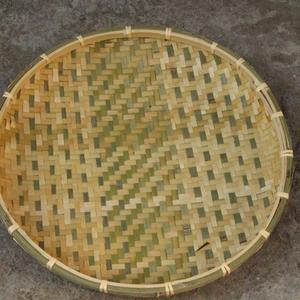 竹编扁子 直径90cm