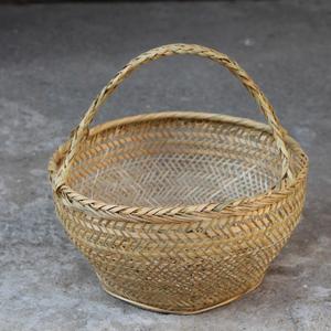 竹编篓子 直径28cm