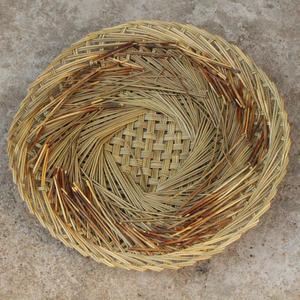竹编草垫子 直径30cm