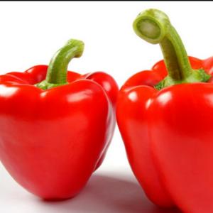 无公害红彩椒(1斤)