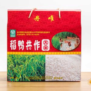 扬农粳1号稻鸭共作大米