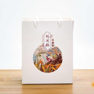 杜氏天香6号大米 4斤礼袋盒装